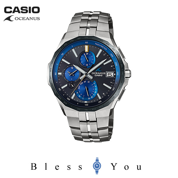 CASIO OCEANUS カシオ ソーラー電波 腕時計 メンズ オシアナス 2019年6月新作 MANTA OCW-S5000E-1AJF 180,0