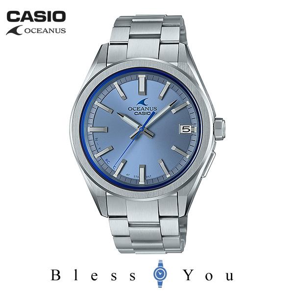 CASIO OCEANUS カシオ ソーラー電波 腕時計 メンズ オシアナス 2019年4月新作 OCW-T200S-2AJF 60,0