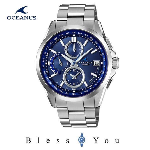ソーラー 電波  メンズ 腕時計 カシオ オシアナス OCEANUS OCW-T2600-2A2JF