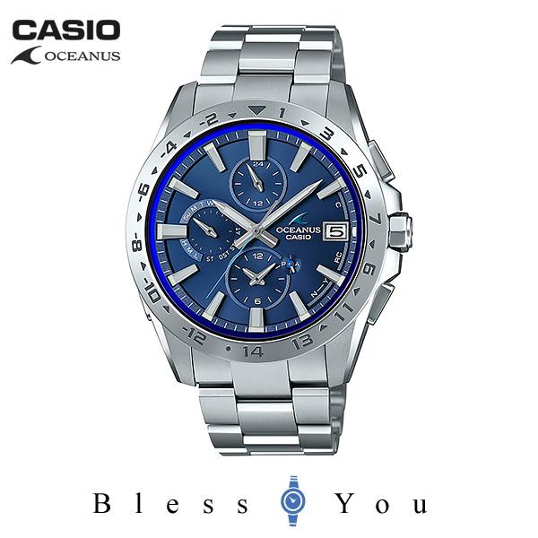 CASIO OCEANUS カシオ ソーラー電波 腕時計 メンズ オシアナス 2019年2月新作 クラシックライン OCW-T3000-2AJF 100,0