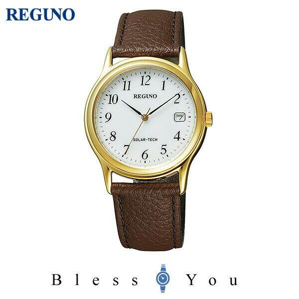 シチズン レグノ メンズ 腕時計 ソーラーテック電波時計 スタンダード 新品お取り寄せ RS25-0031B 5,5