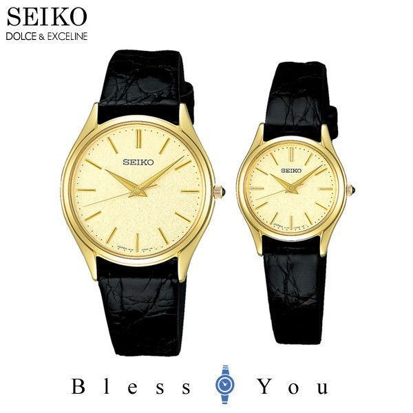 789cccc5f2 セイコー ペアウォッチ 腕時計 ドルチェ&エクセリーヌSACM150-SWDL160