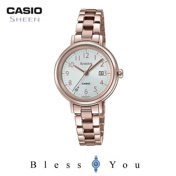 CASIO SHEEN カシオ ソーラー 腕時計 レディース シーン 2019年2月新作 SHS-D100CG-7AJF 26,0