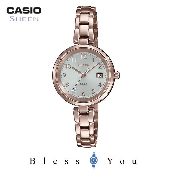 CASIO SHEEN カシオ ソーラー 腕時計 レディース シーン 2019年2月新作 SHS-D200CG-4AJF 26,0