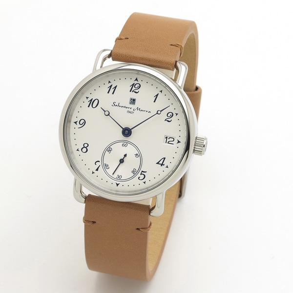 サルバトーレマーラ メンズ 腕時計 SALVATORE MARRA SM20106-SSWHBR 28.0