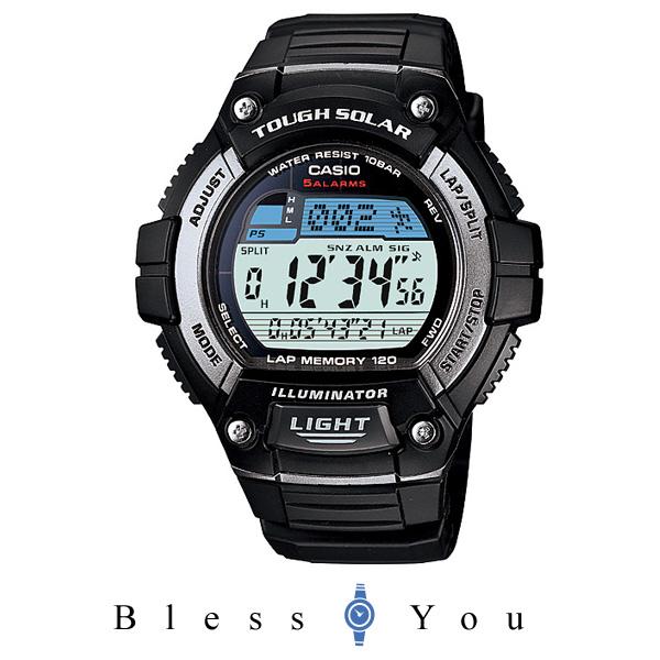 カシオ 腕時計 CASIO スタンダード CASIO SOLAR POWER SYSTEM タフソーラー W-S220-1AJF メンズ
