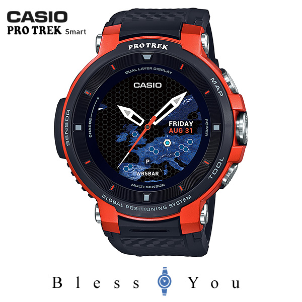 CASIO PRO TREK SMART カシオ 腕時計 メンズ プロトレック スマート 2019年1月新作 Bluetooth WSD-F30RG 61,0