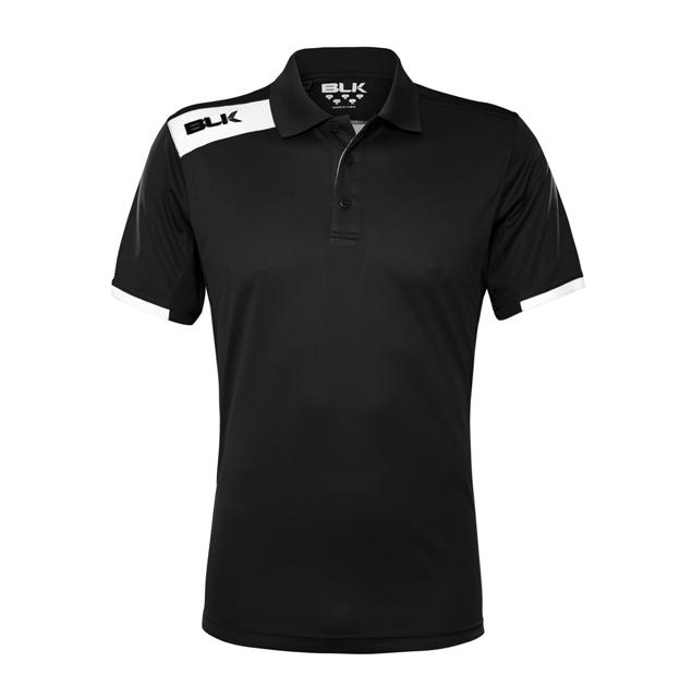 BLK Tek 6 ポロシャツ(ブラック)