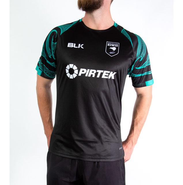 ニュージーランド代表キーウィズ(ラグビーリーグ) トレーニングティーシャツ 2020