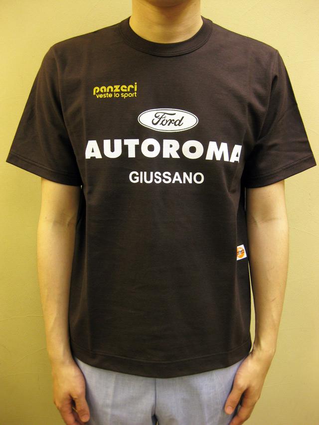 "PANZERI ""AUTOROMA""Tシャツ"