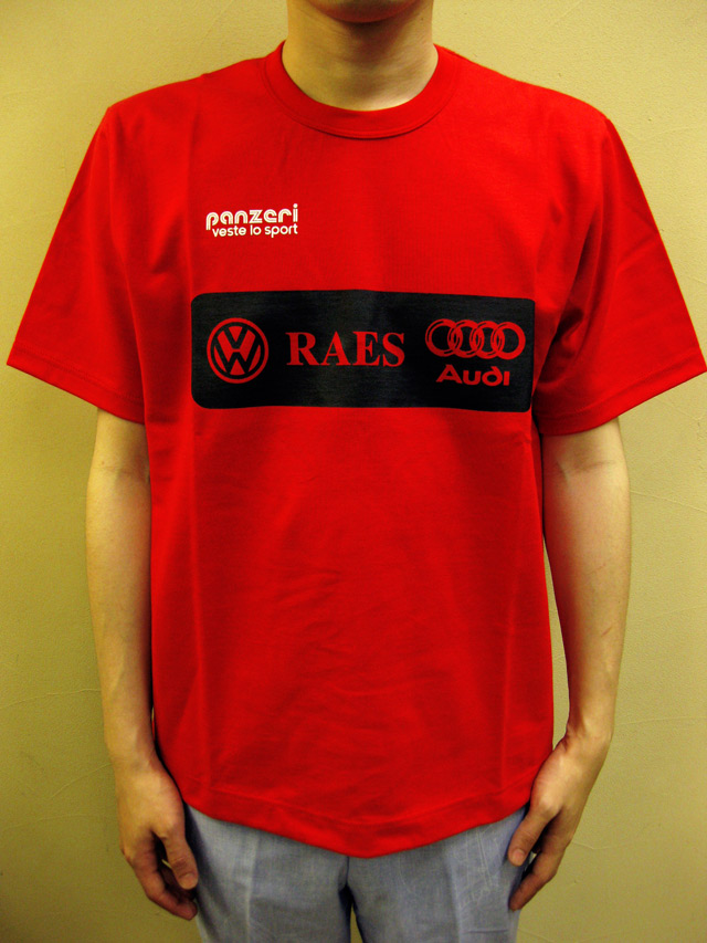 "PANZERI ""RAES""Tシャツ"
