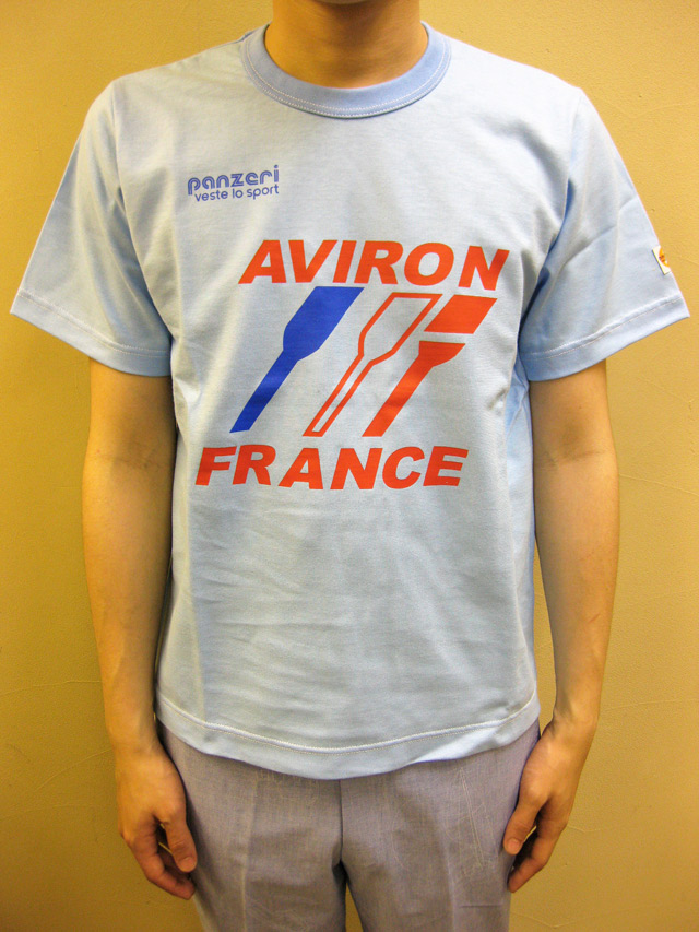 "PANZERI ""AVIRON FRANCE"" S/S Tシャツ"