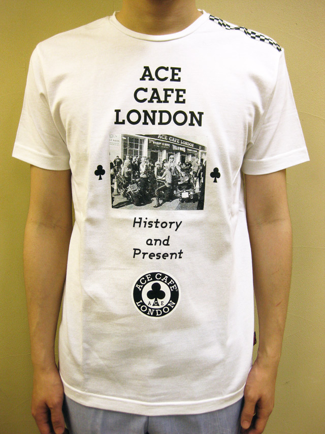 """ACE CAFE """"HISTORY & PRESENT""""Tシャツ"""