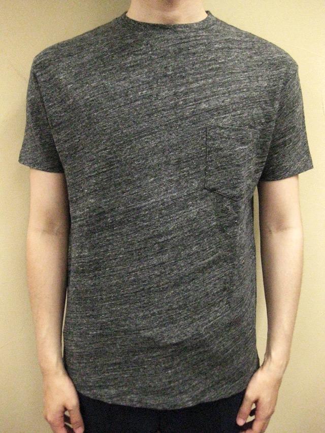 Ambiente Switzer T-Cloth Crew-neck S/S Tee with Pocket