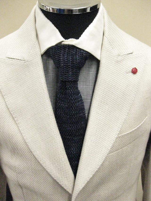 【送料無料】 ROYAL HEM Cotton/Linen Heather Knit Tie