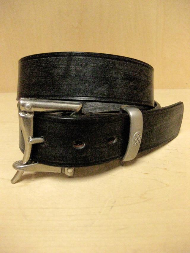 【送料無料】Martin Faizey(DAINES & HATHAWAY)  1.5inch Quick Release Belt Black
