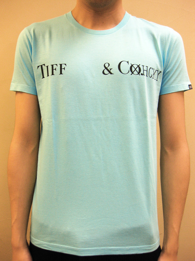 "Enhance Element ""TIFF & CHCKY"" Tシャツ"