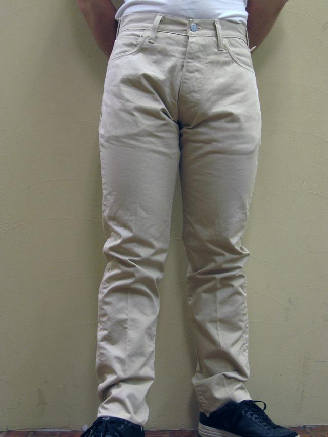 【送料無料】EVISU RING(エヴィスリング)  #2005 左綾チノクロスジーンズ 【限定希少モデル】