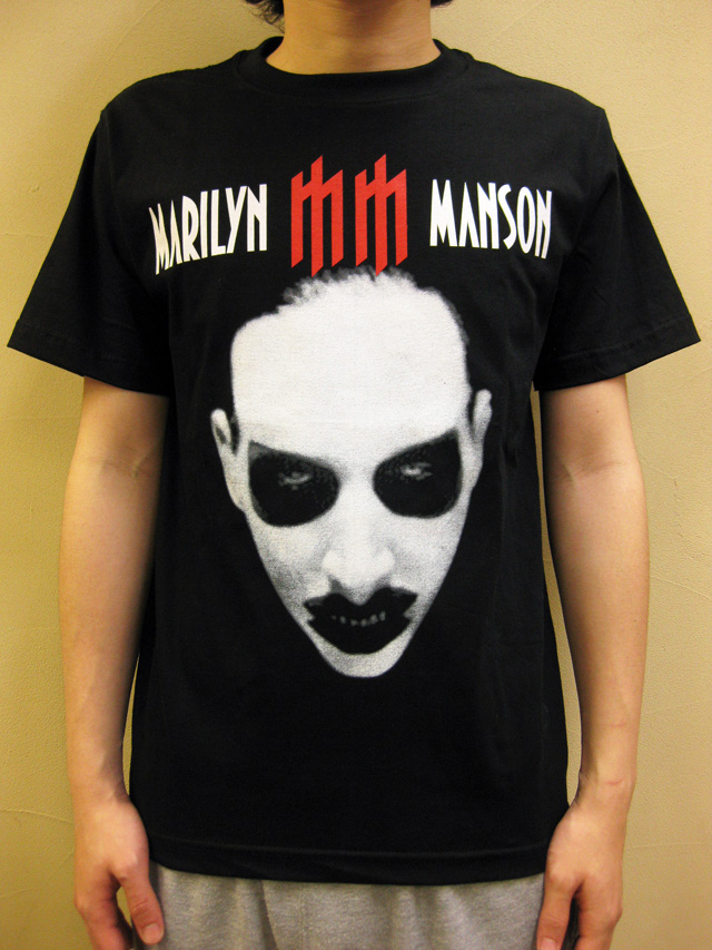 """GTS1976 """"MARILYN MANSON/THE GOLDEN AGE OF GROTESQUE"""" Tシャツ"""