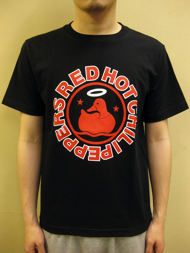 """GTS1976 """"RED HOT CHILI PEPPERS/ANGEL DUCK"""" Tシャツ"""