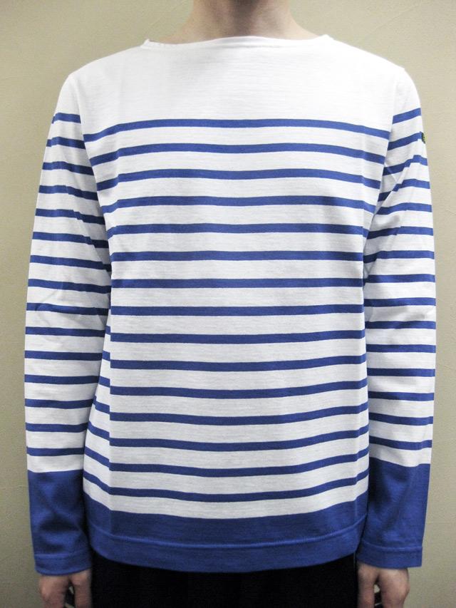 Le minor Panel Border Long Sleeve Tee/ルミノア パネルボーダー長袖Tシャツ