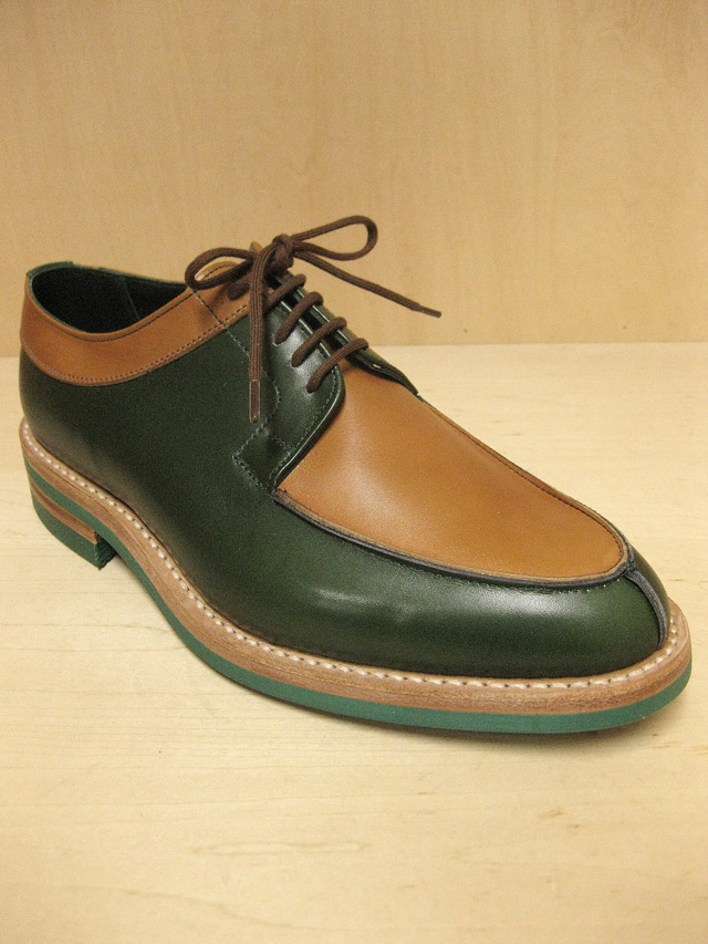 "Tricker's 2トーン エプロンフロント シューズ""For Plateau""(Blood & Thunder 別注)"