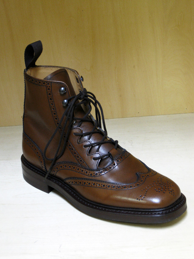 Tricker's ギリーブーツ/Raymond(Blood & Thunder 別注)
