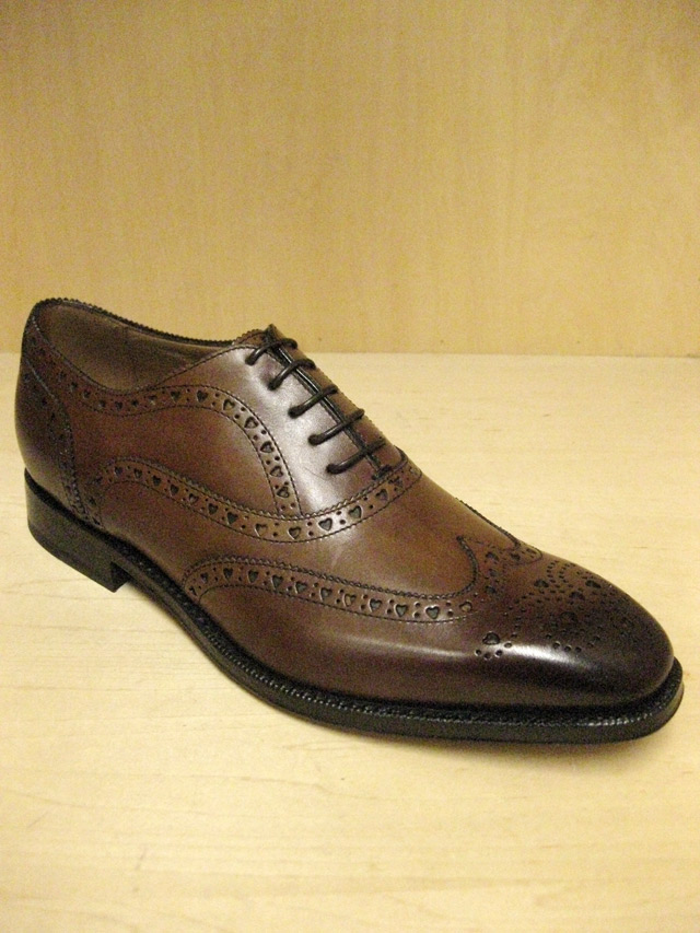 MAC BAREN'S ITALIAN CALF BALMORAL WING TIP(Blood & Thunder別注)