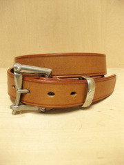 【送料無料】Martin Faizey(DAINES & HATHAWAY)  1.25inch Quick Release Belt Oak Bark Leather/London