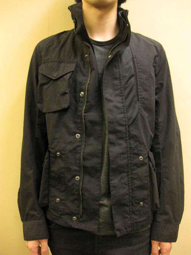 【送料無料】NOM DE GUERRE 70/30 Nylon Military Jacket