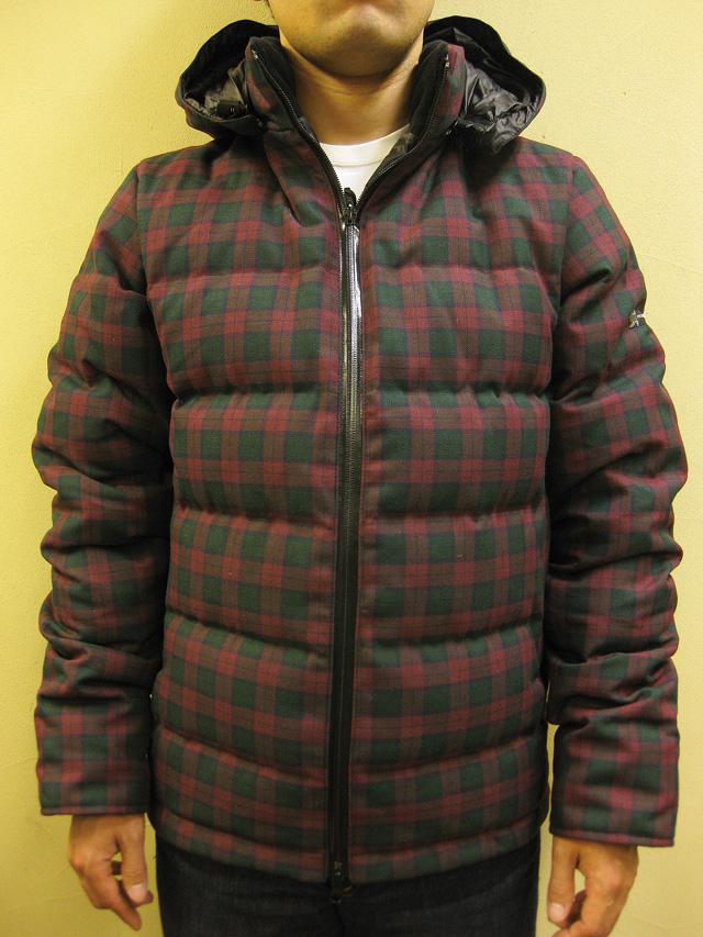 PH DESIGNS  Delta Hooded Jacket (Tartan Check 60/40 Nylon)