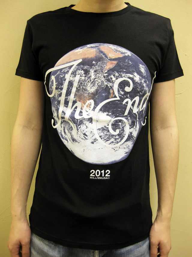 """SIXPACK FRANCE×William   """"The End""""Tシャツ"""