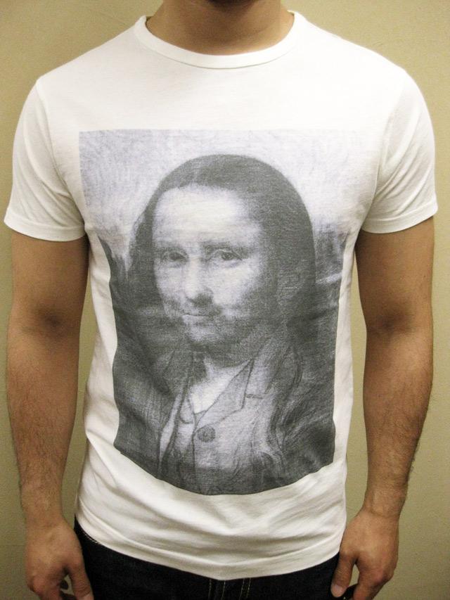 "SIXPACK FRANCE×Museum Studio ""Monagogh"" Tシャツ"