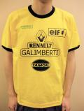 "PANZERI ""RENAULT GALIMBERTI"" トリム S/S Tシャツ イエロー/ブラック"