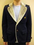 【送料無料】A(LeFRUDE)E コットン/ウール コーデュロイ フェイクファーライニング ジャケット