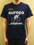 "PANZERI ""Europa erfahren"" S/S Tシャツ/ネイビー"