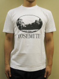 "GASBOOK  USA国立公園 Tシャツ ""YOSEMITE"""