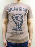 "GASBOOK  USA国立公園 Tシャツ ""YELLOW STONE"""