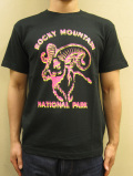 "GASBOOK  USA国立公園 Tシャツ ""ROCKY MOUNTAIN"""