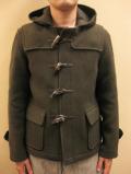 【送料無料】Le minor Light Melton Short Duffle Coat/ルミノア ライトメルトン ショートダッフルコート