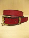 【送料無料】Martin Faizey(DAINES & HATHAWAY)  1.25inch Quick Release Belt Red