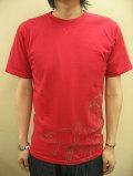 【送料無料】EVISU EURO(エヴィスユーロ) フロッグブルーワー(蛙を膨らます男)半袖Tシャツ 【直営店未入荷ユーロ限定モデル】