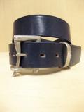 【送料無料】Martin Faizey(DAINES & HATHAWAY)  1.5inch Quick Release Belt Indigo Blue