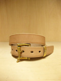 【送料無料】Martin Faizey(DAINES & HATHAWAY)  1.25inch Quick Release Belt Oak Bark Leather/NATURAL