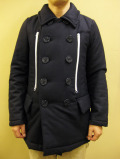 【送料無料】OVER THE STRiPES MELTON/THINSULATE P-COAT