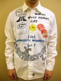 【送料無料】OVER THE STRiPES×FELIX Vintage Style Shambrey Shirt
