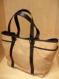 "TUSTING Shoe Leather ""Tyne"" Tote /ナチュラル(Blood & Thunder別注)"