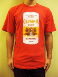 "WORNFREE  ""OLIMPIA BEER""Tシャツ"