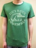 """WORNFREE  """"DETROIT JAZZ""""Tシャツ"""