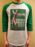 "WTB クラッシックホテル ラグラン7分袖T ""Villars Palace Grand Hotel Villars Swisse"""
